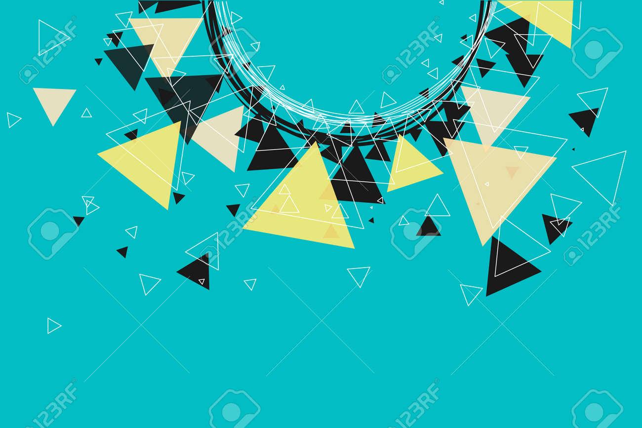 Blanco Y Negro Triángulos, Estrellas Y El Modelo Del Círculo De ...