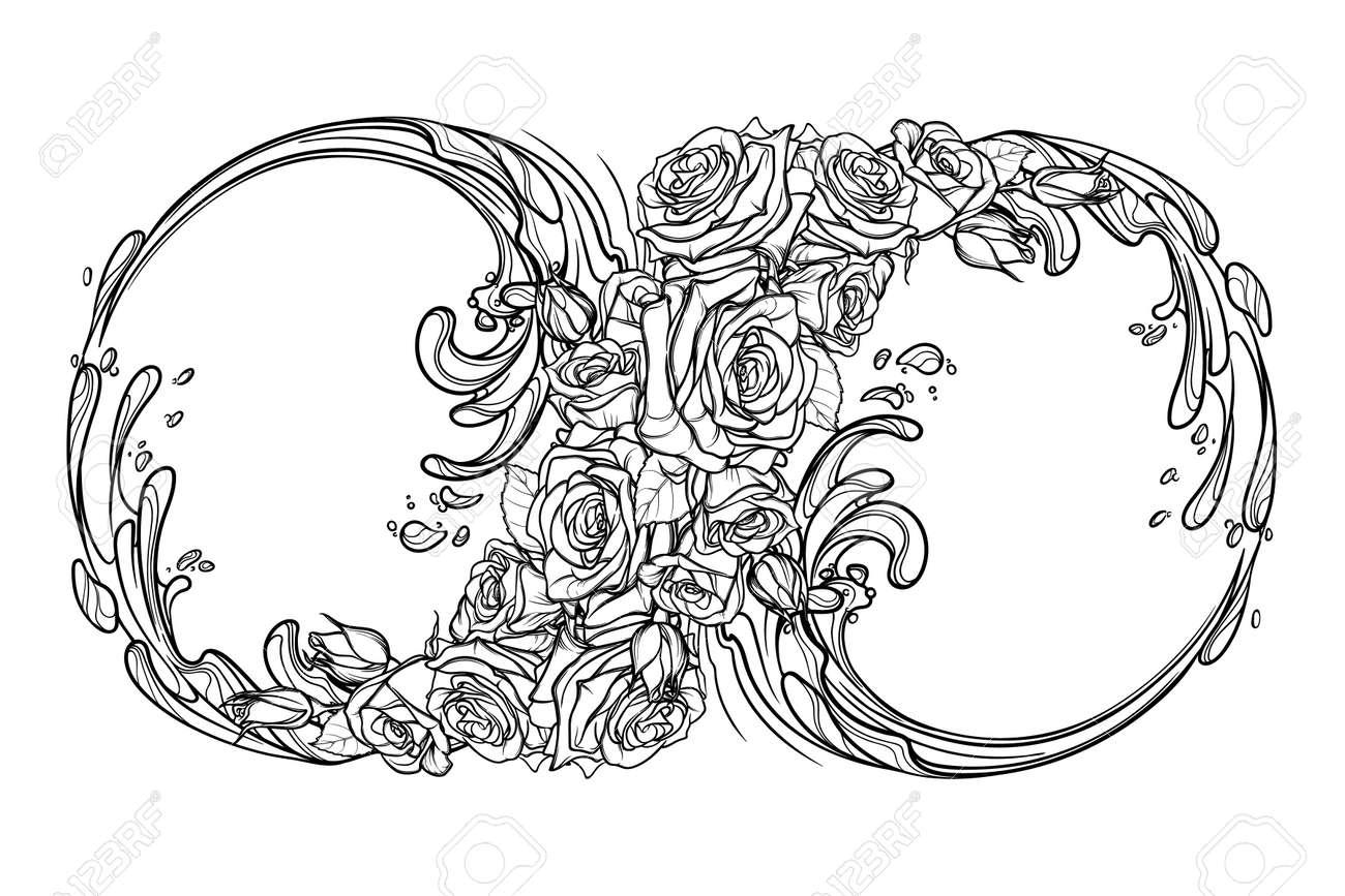 Signo De La Eternidad O El Infinito Decorativo Interpretación