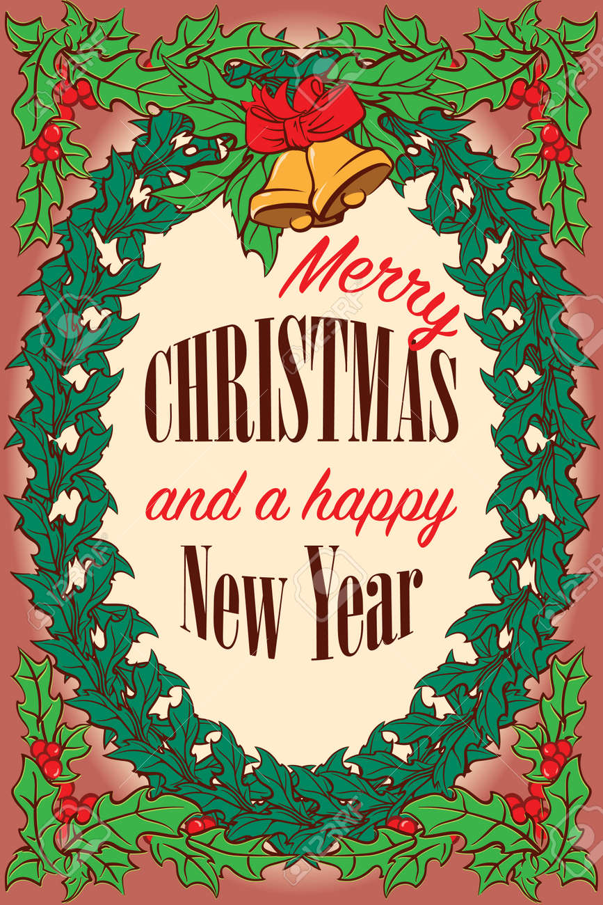 A Little Bit Old Fashioned Bright And Cheerful Christmas Greeting ...