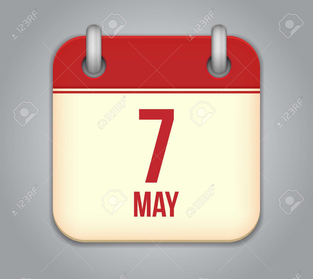 Vector calendar app icon Stock Vector - 19270602