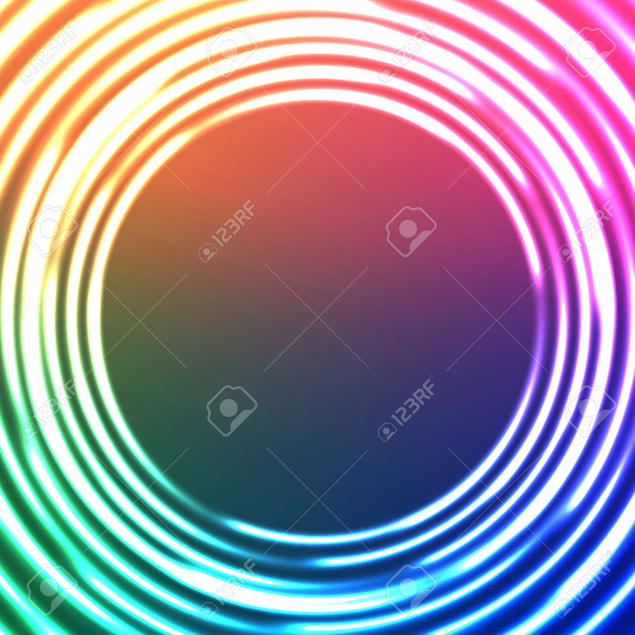 Light Circles Abstract Background. V Stock Vector - 22709147