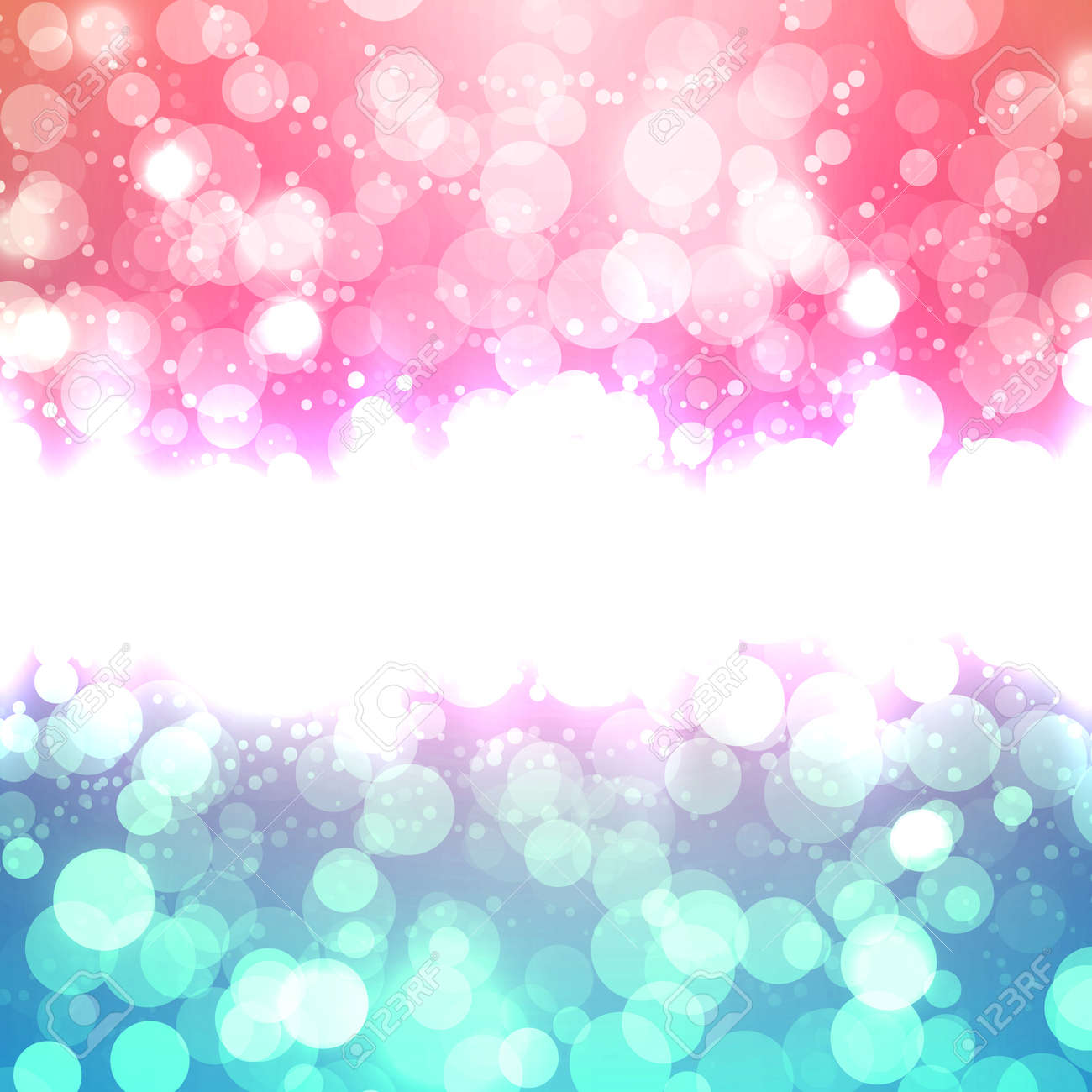 Blurred Christmas Vector Background Stock Vector - 22952807