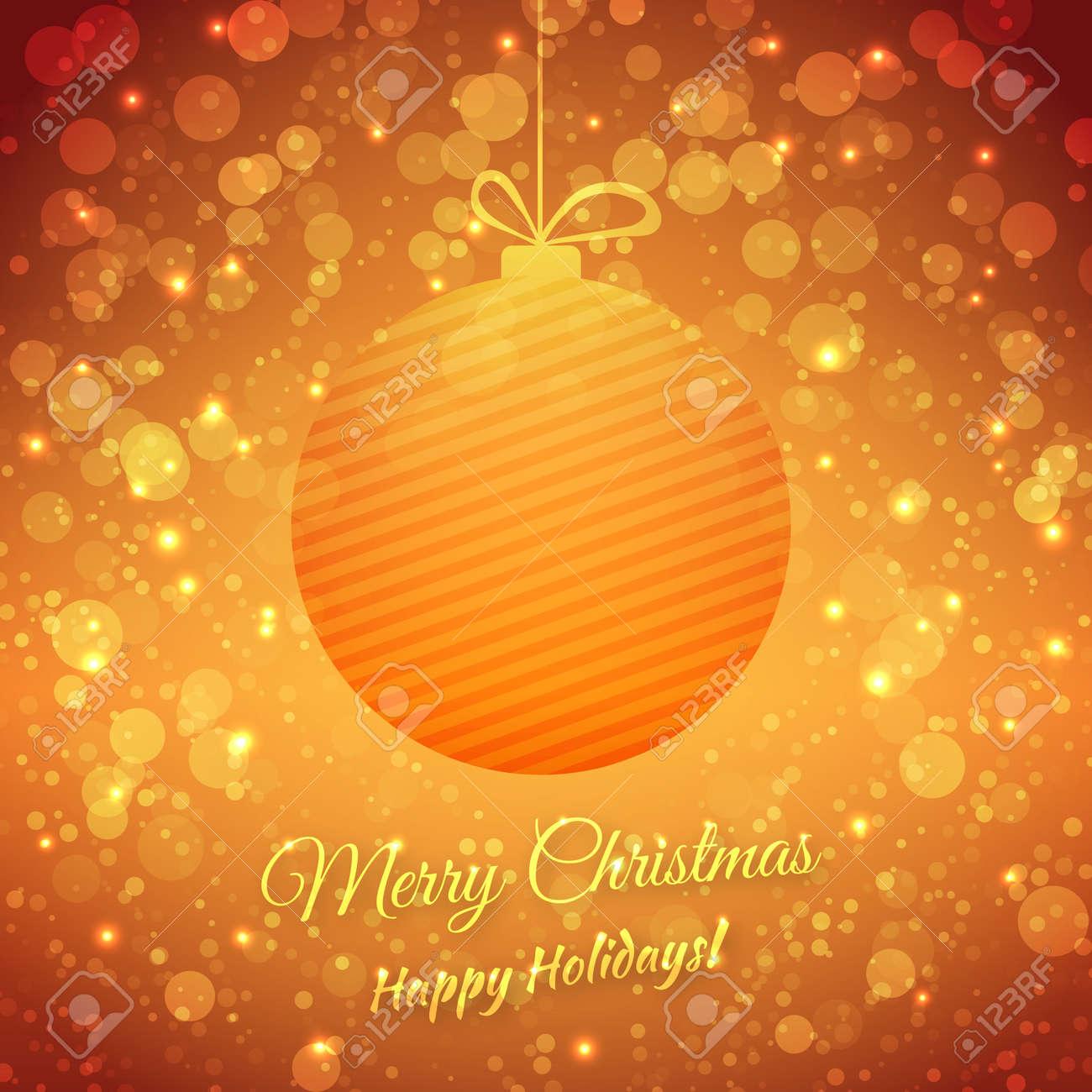 Christmas Ball. Stock Vector - 23257650