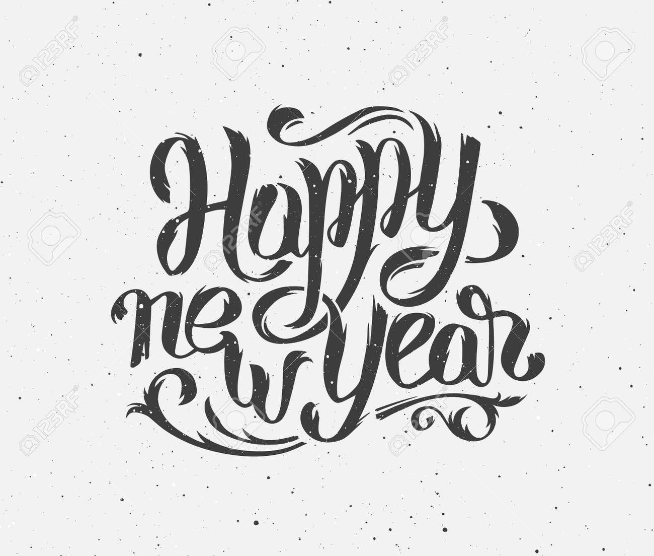 Happy New Year 2016 Handmade Greeting Card Design Chinese