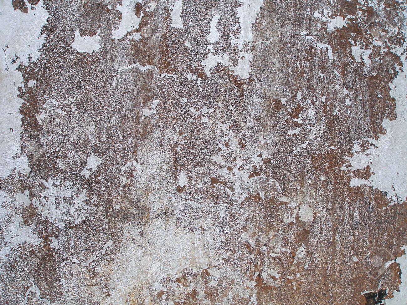 Peeling Farbe Und Rost Textur Wheathered Metall Abstrakte Textur