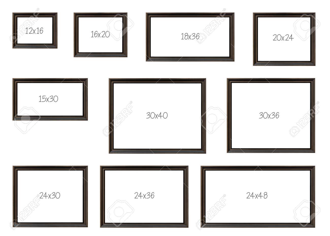 Los Diez Más Populares Dimensiones De Venta Fotogramas De Un Modelo ...