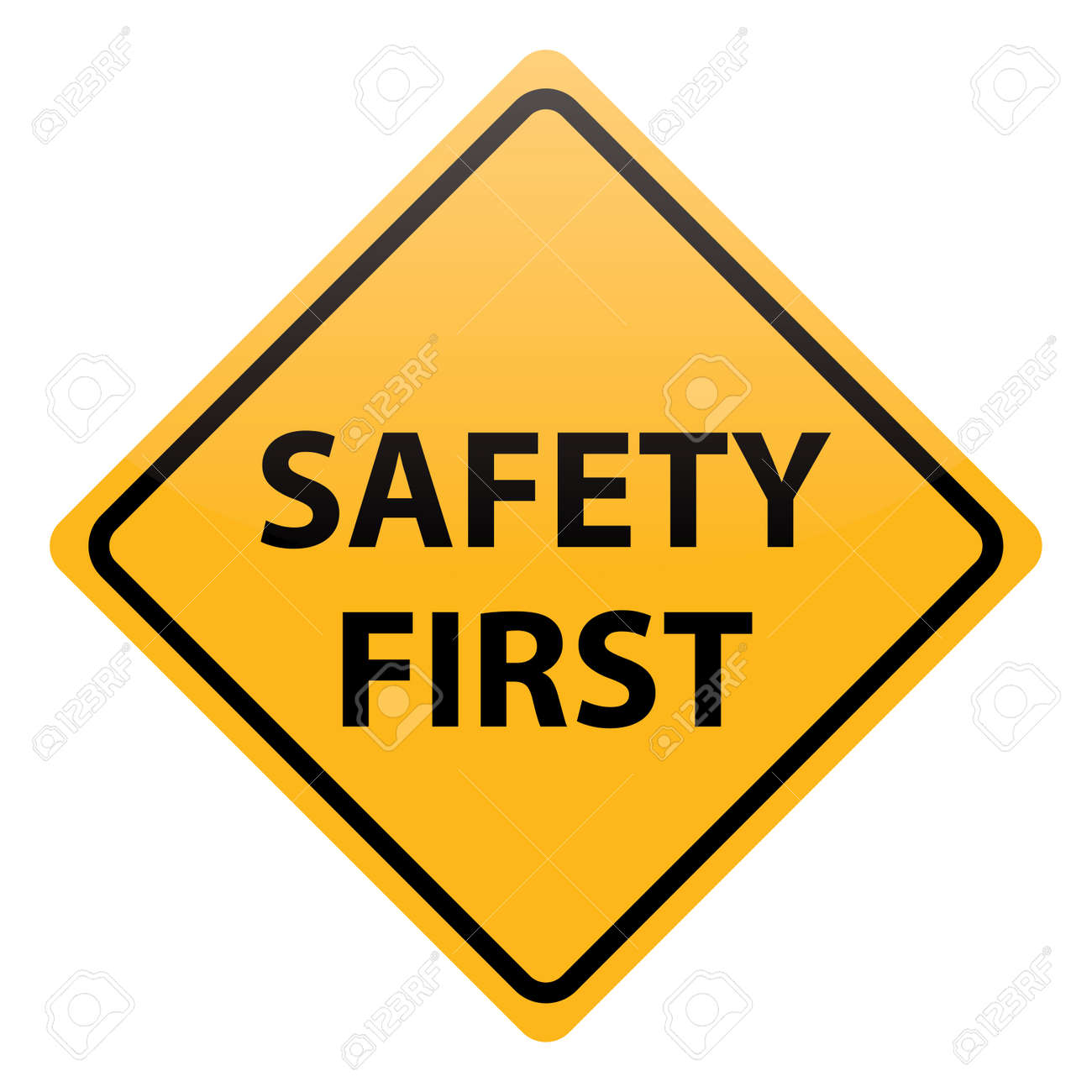 vector safety first Stock Vector - 20405255