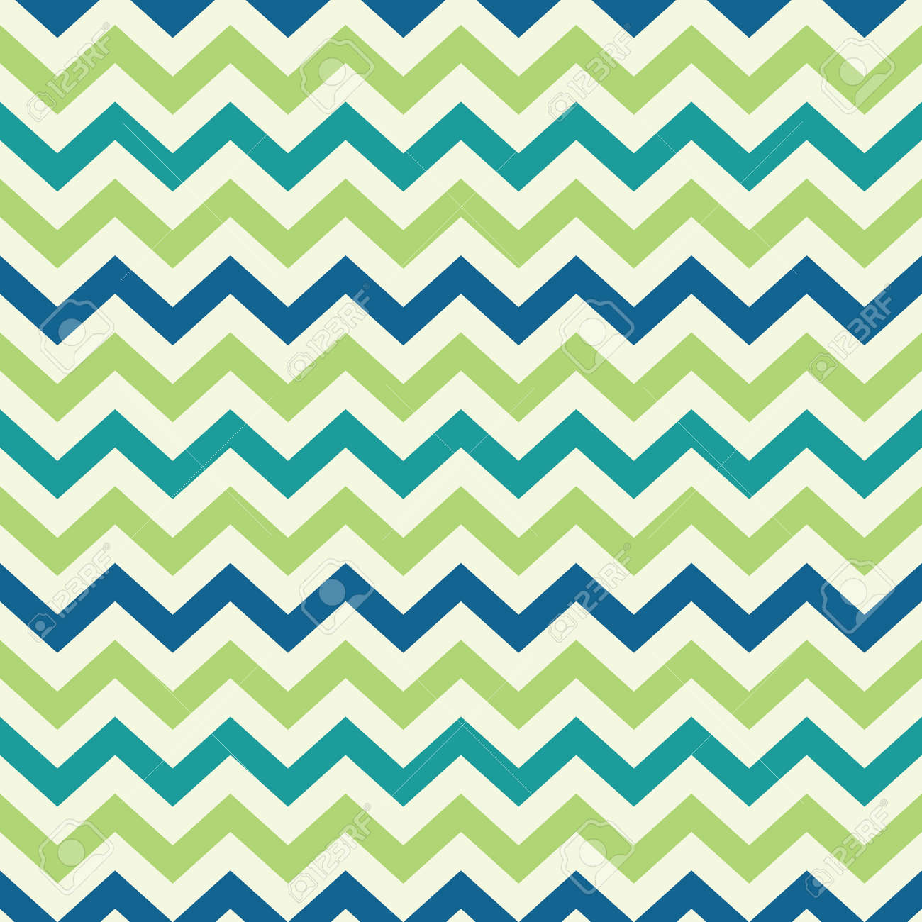 vintage popular zigzag chevron pattern Stock Vector - 21759790