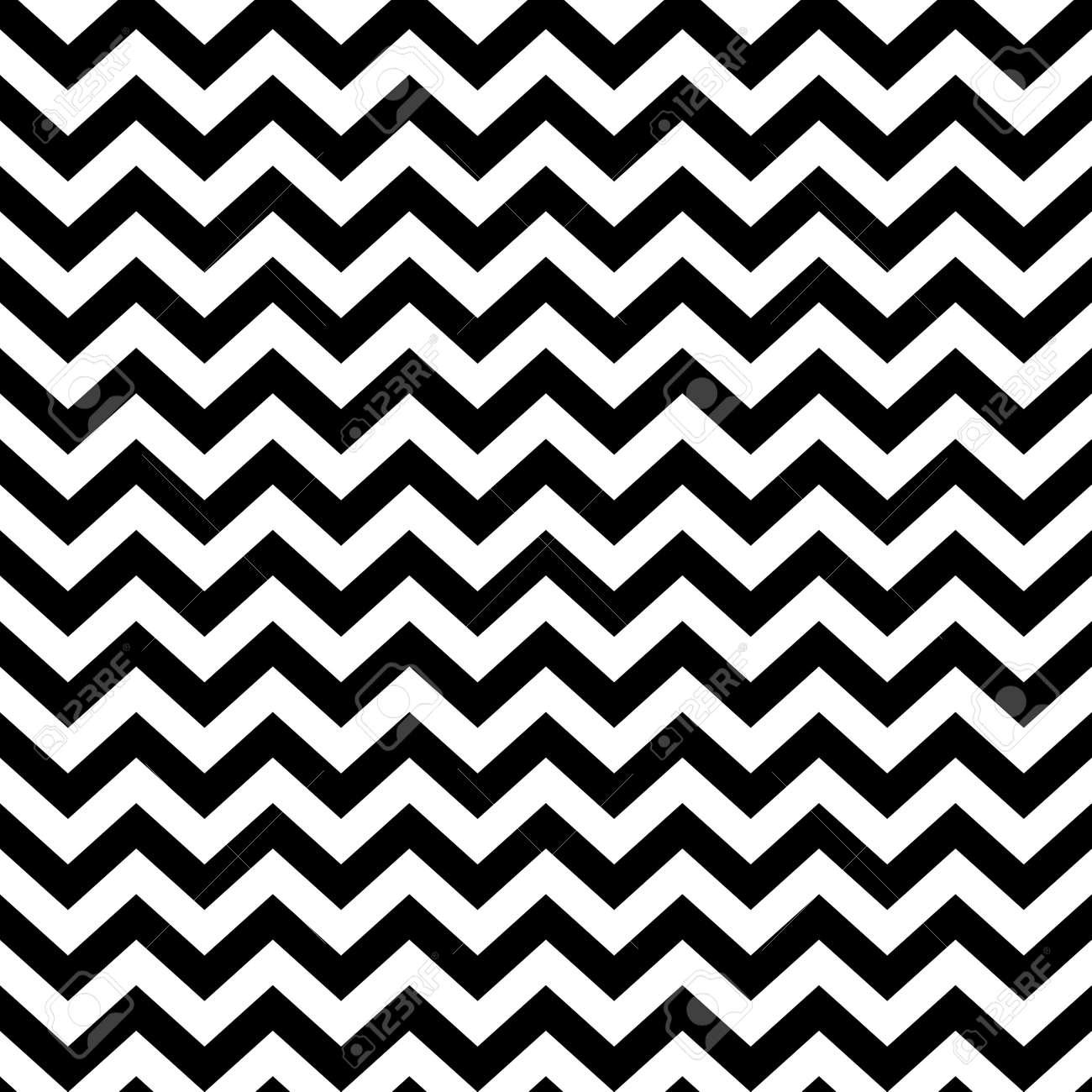 popular vintage zigzag chevron pattern Stock Vector - 21759835