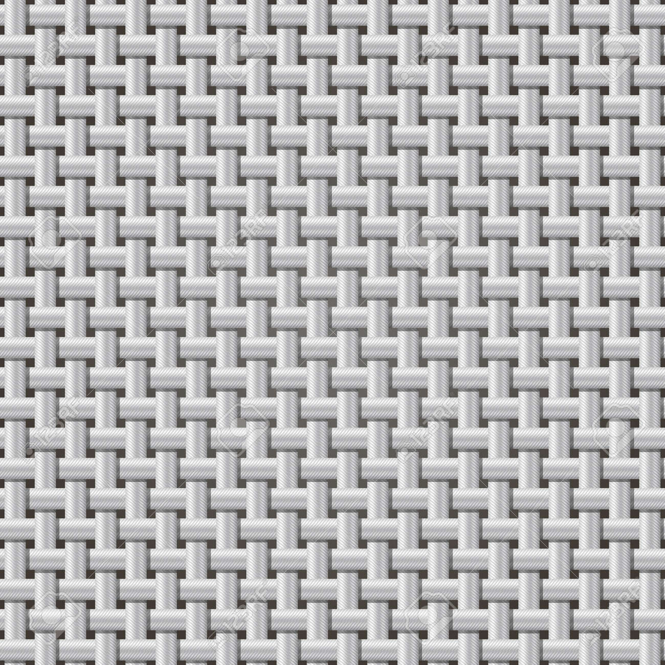 Seamless Background Weaving Ribbed Metal Wire. The Color Of ...