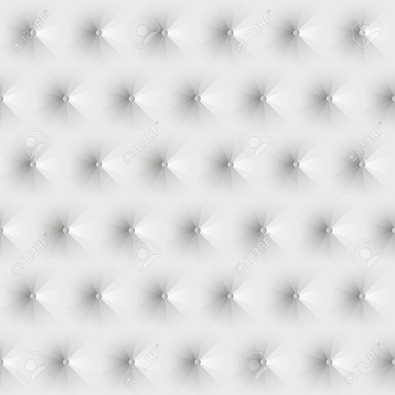 Seamless Texture Upholstery White Leather Stock Vector