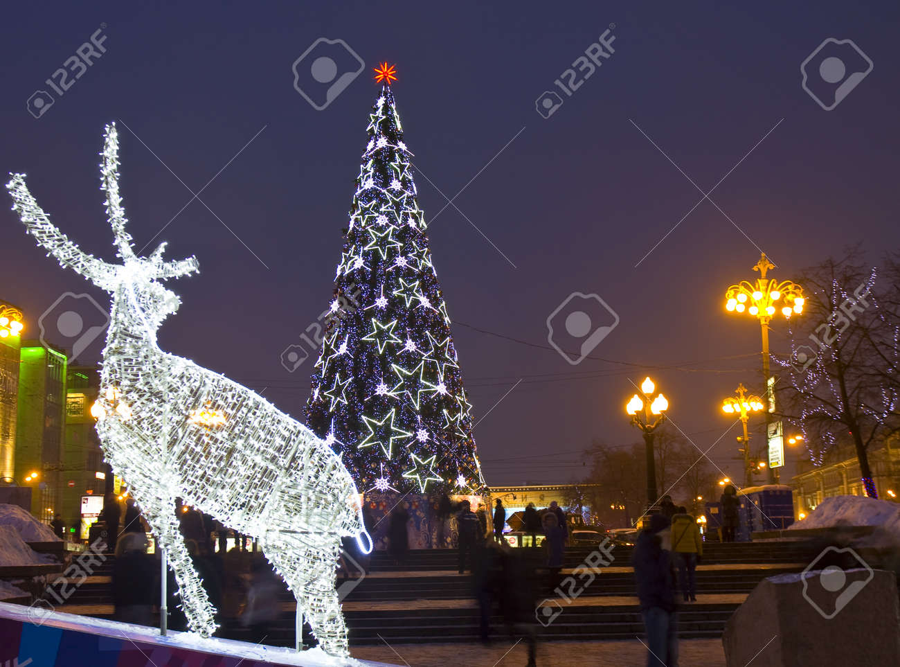 Weihnachten Am 6 Januar.Stock Photo