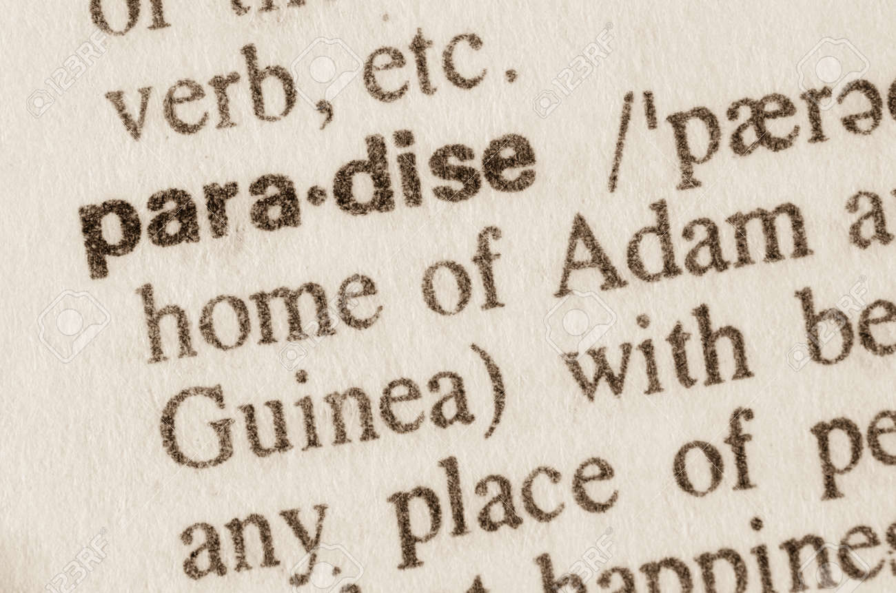 Paradise - what is the definition and concept 15