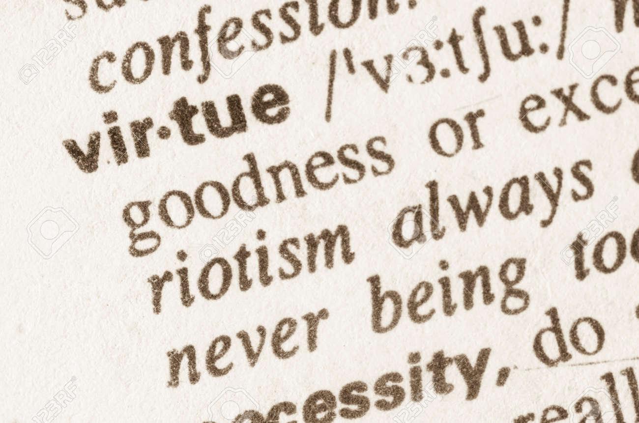 Image result for virtue definition