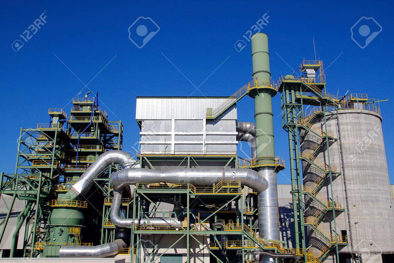 Les installations industrielles Banque d'images - 25421189