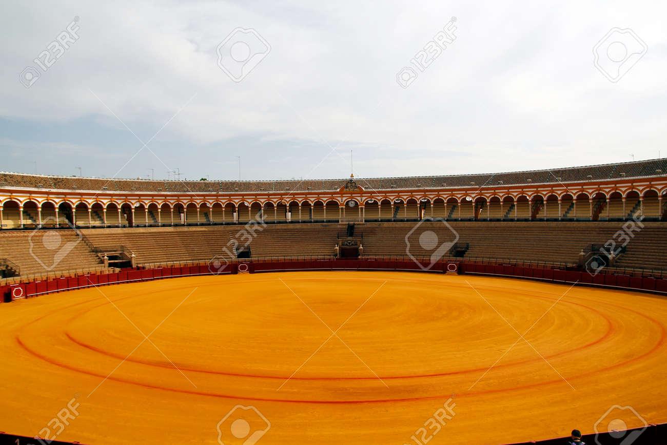 Arènes espagnol à Séville Banque d'images - 25354899