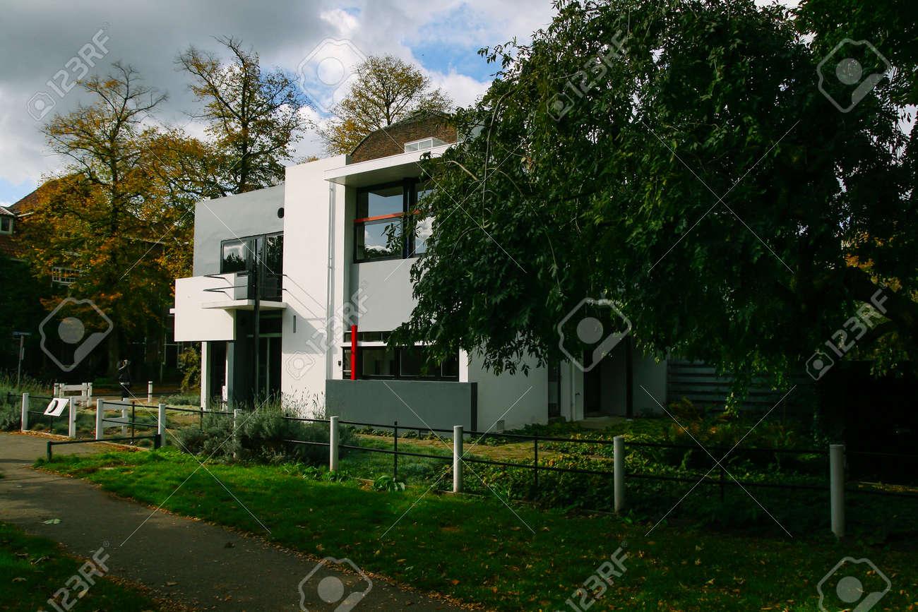 Utrecht Niederlande 18 Oktober 2009 Die Rietveld Schröder Haus