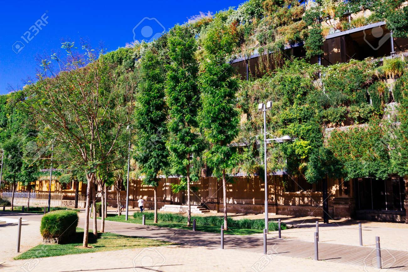 La construction verte, de l'architecture durable Banque d'images - 40439139