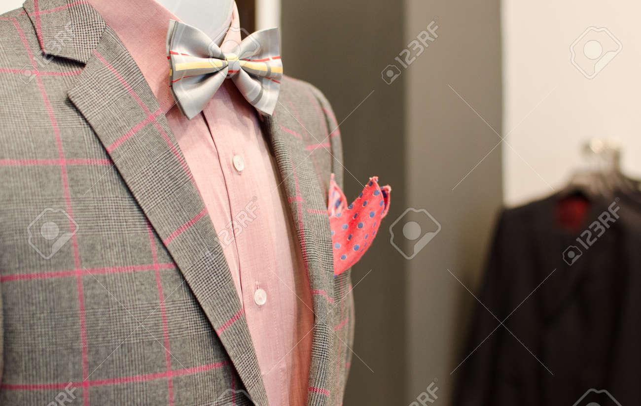 Man suit on a mannequin. - 41692118