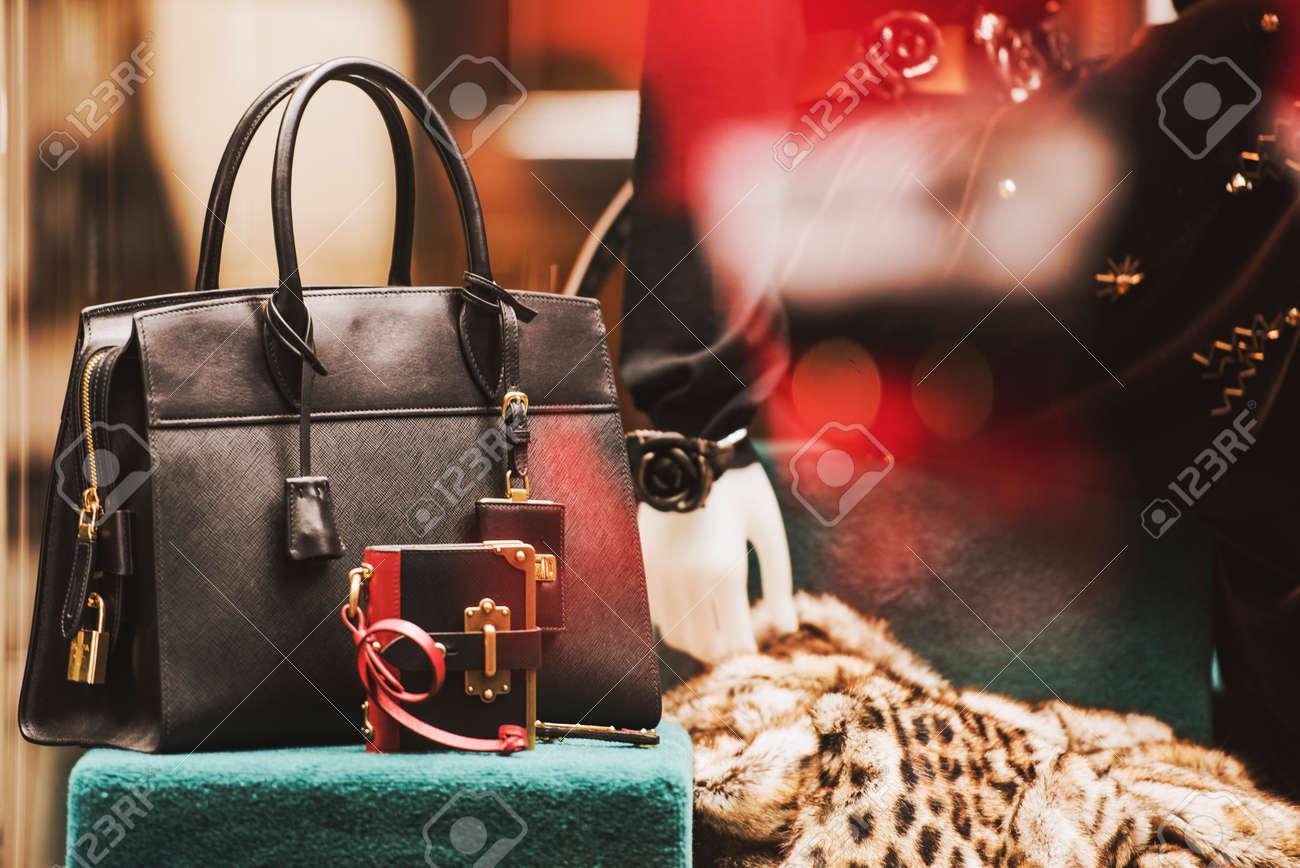 luxury showcase of a fashion store - 70261163