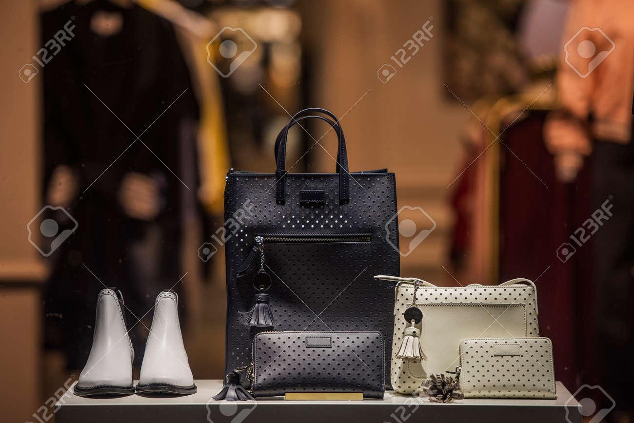 Elegant fashion store apparel - 80989357