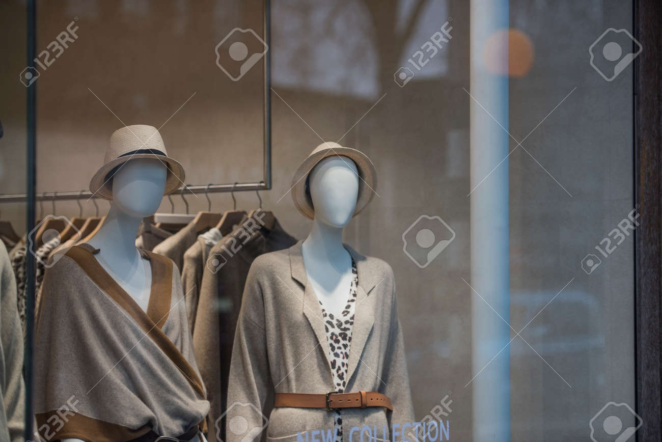 294751819 Women clothes in a store in London