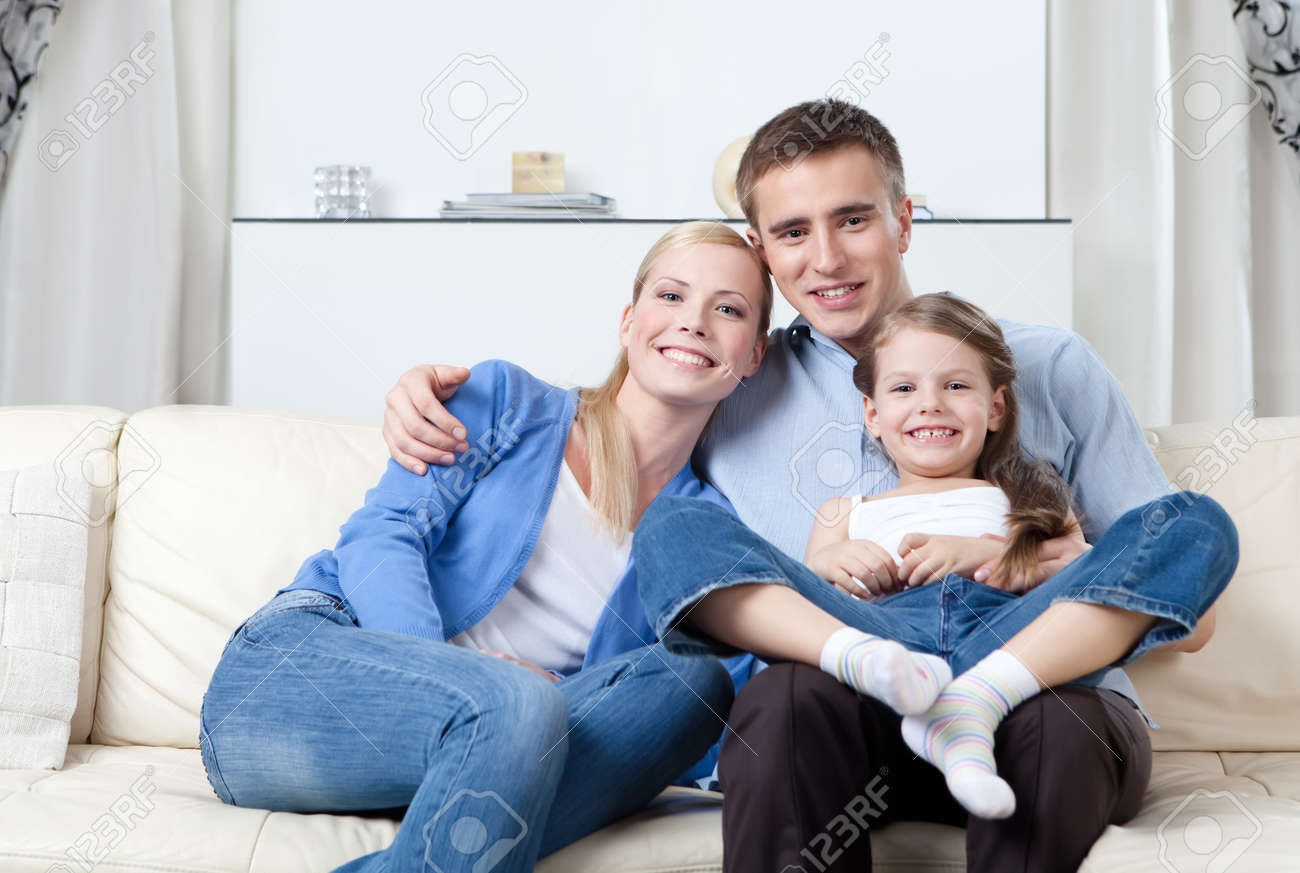 Problem-free family has a day off Stock Photo - 14866611
