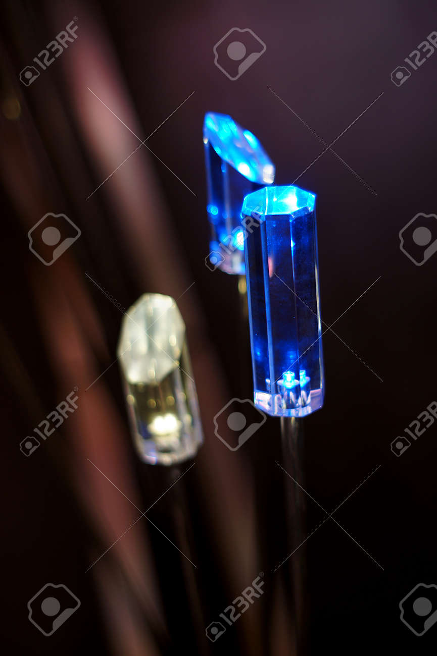 Prism shaped lamps Stock Photo - 19282893