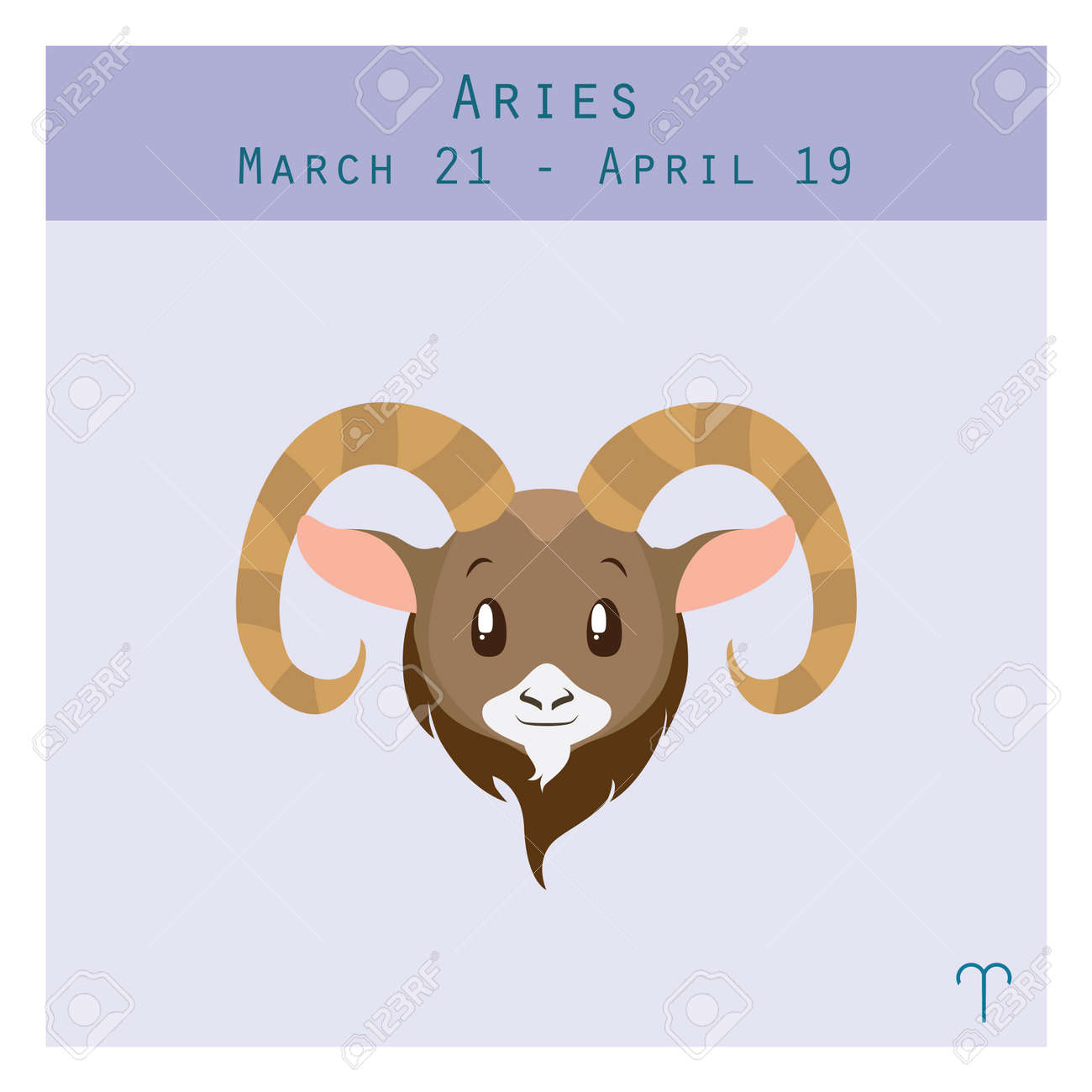 Cartoon aries zodiac sign with duration and symbol in lower corner cartoon aries zodiac sign with duration and symbol in lower corner stock vector 61146056 biocorpaavc Gallery