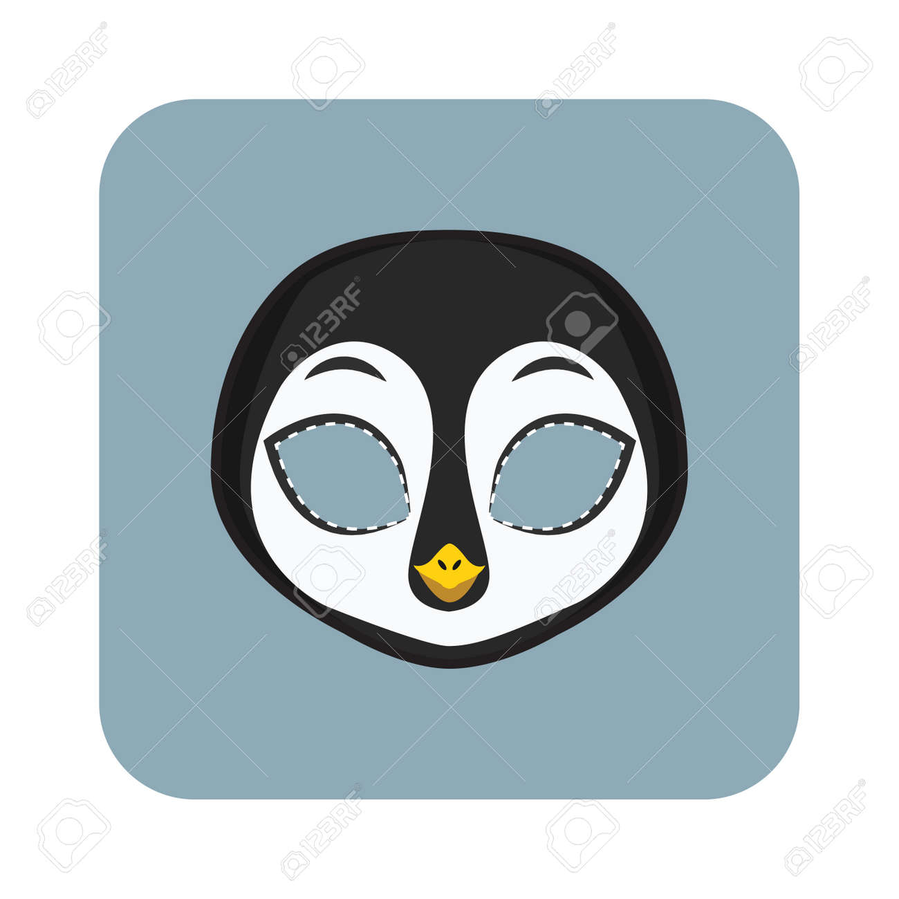 Penguin Mask For Halloween And Other Festivities