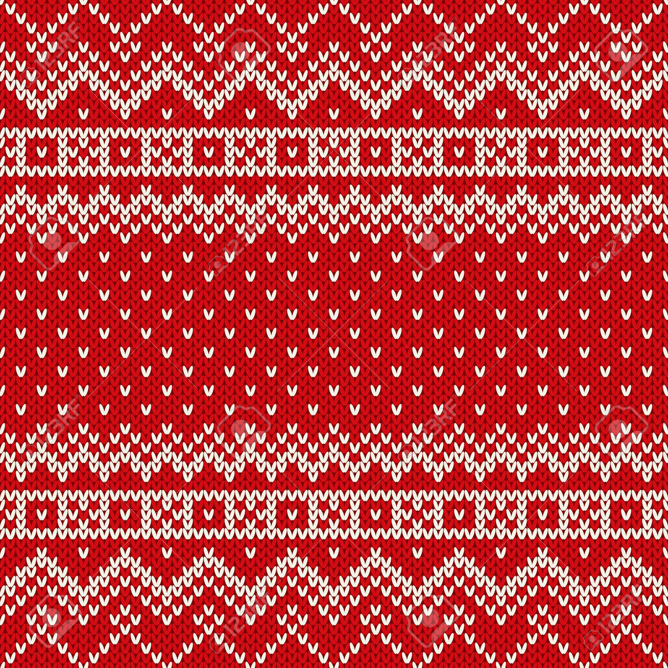 c9baf9b3192e14 Nordic traditional fair isle style seamless knitted pattern stock vector  jpg 1300x1300 Red fair isle pattern