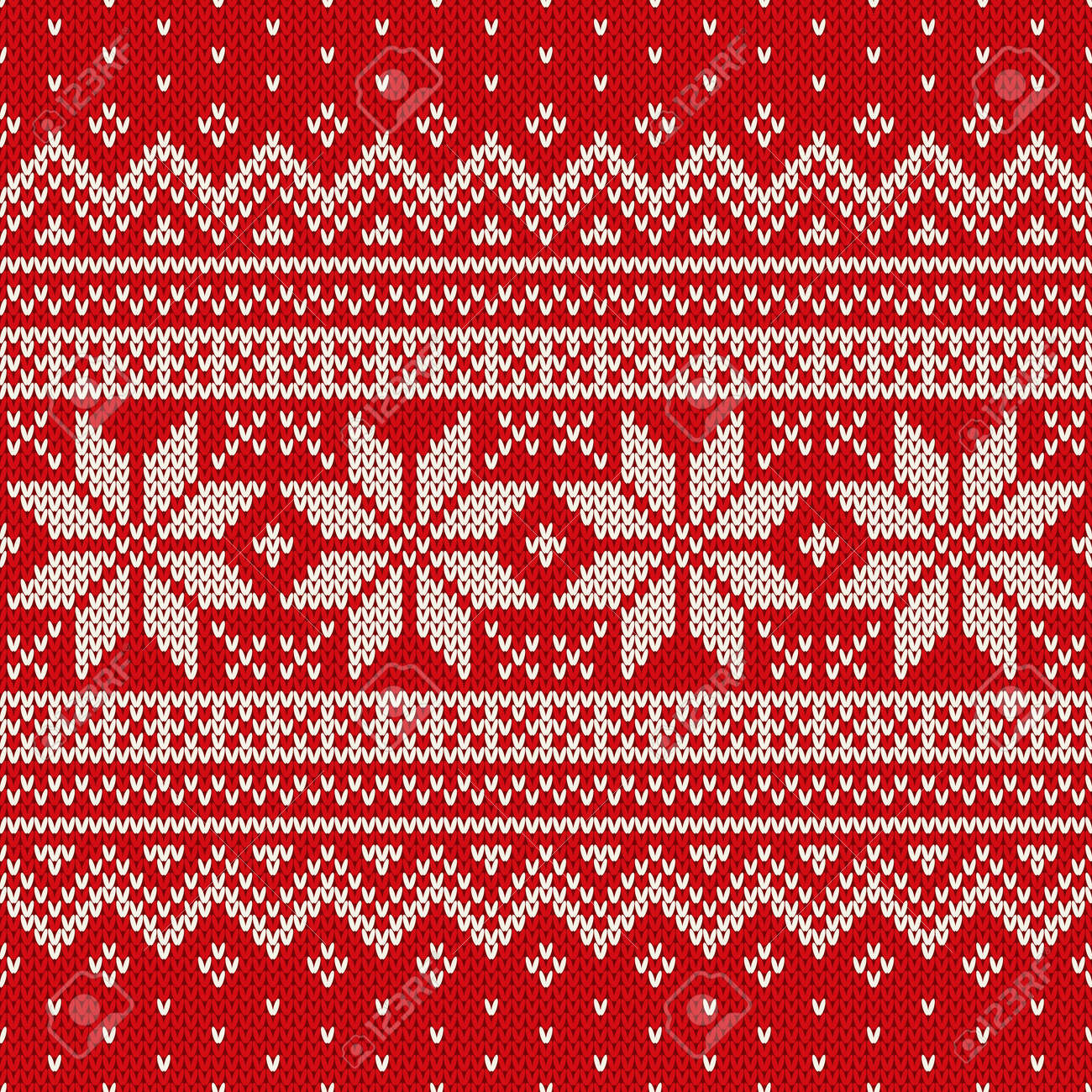 7b319961c Christmas Sweater Design. Seamless Pattern Royalty Free Cliparts ...