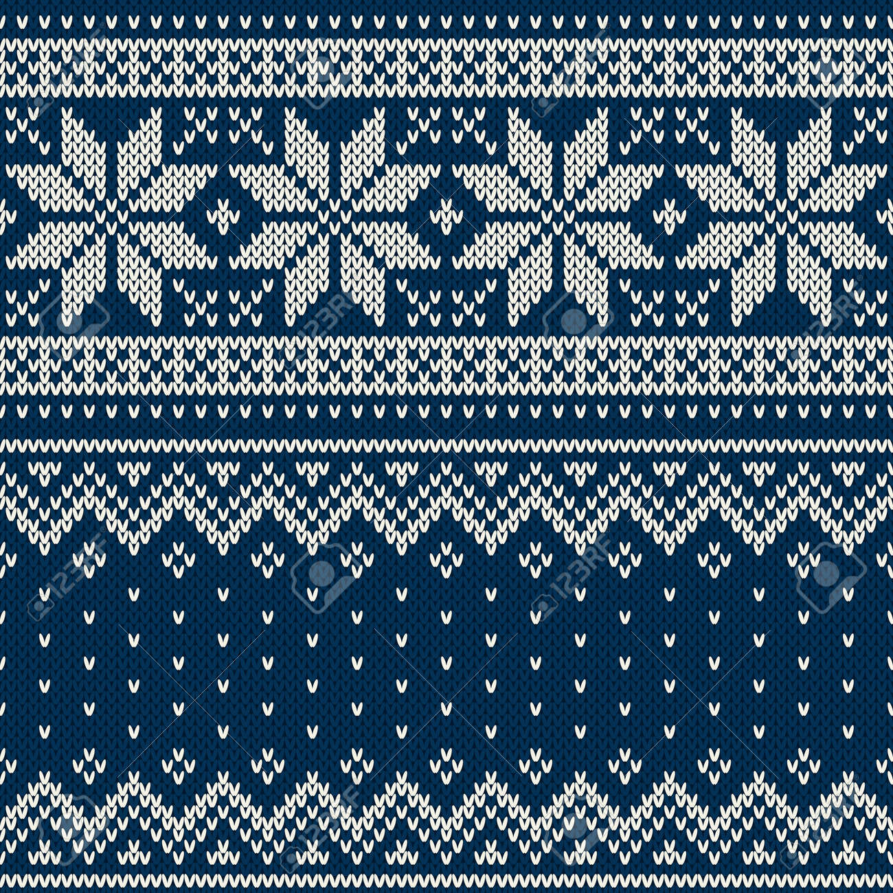 b0ad5eb27b5c Christmas Sweater Design. Seamless Pattern Royalty Free Cliparts ...