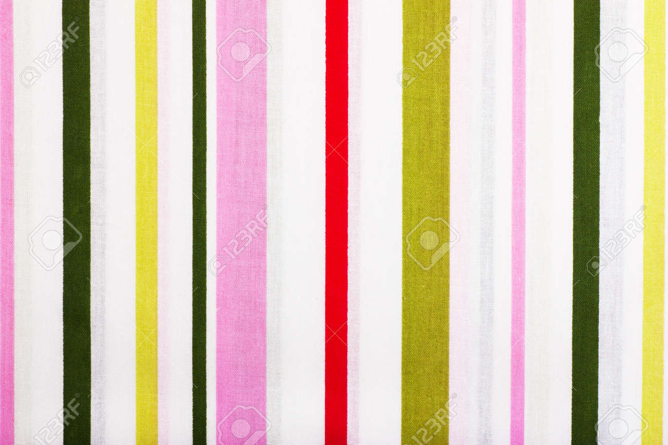 Bright colorful fabric background with vertical stripes Stock Photo - 11410938