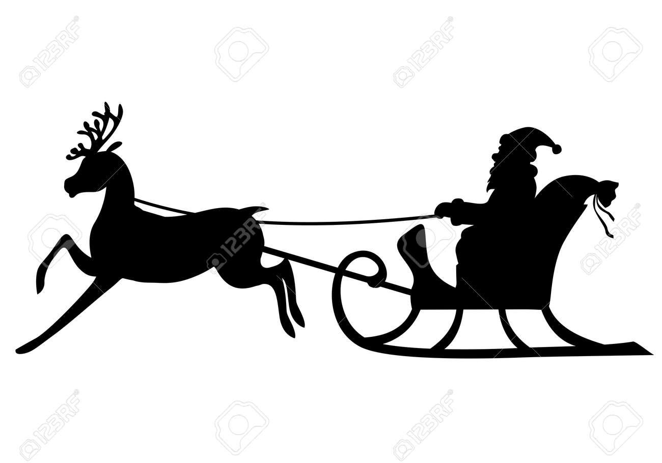 Дед мороз и сани иКак С Декор