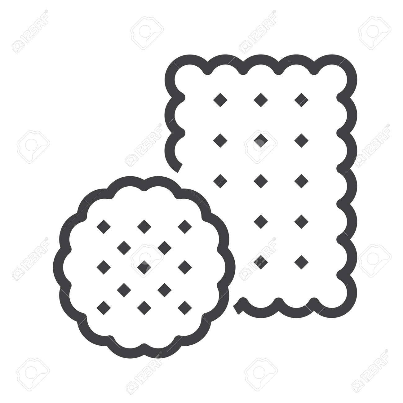 biscuit vector icon royalty free cliparts vectors and stock illustration image 127646641 biscuit vector icon