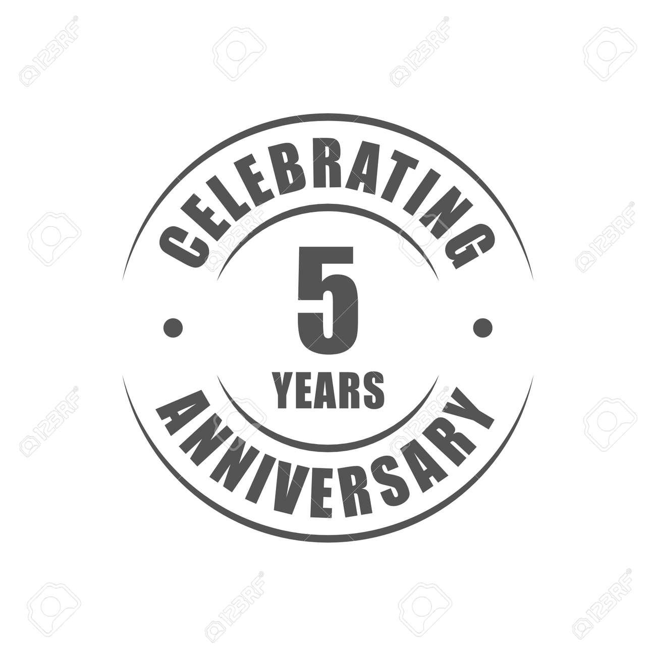 5 years celebrating anniversary logo royalty free cliparts 5 years celebrating anniversary logo stock vector 64660732 biocorpaavc Choice Image