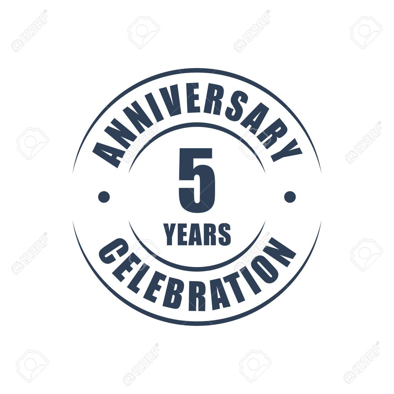 5 years anniversary celebration logo royalty free cliparts 5 years anniversary celebration logo stock vector 65016182 biocorpaavc Gallery