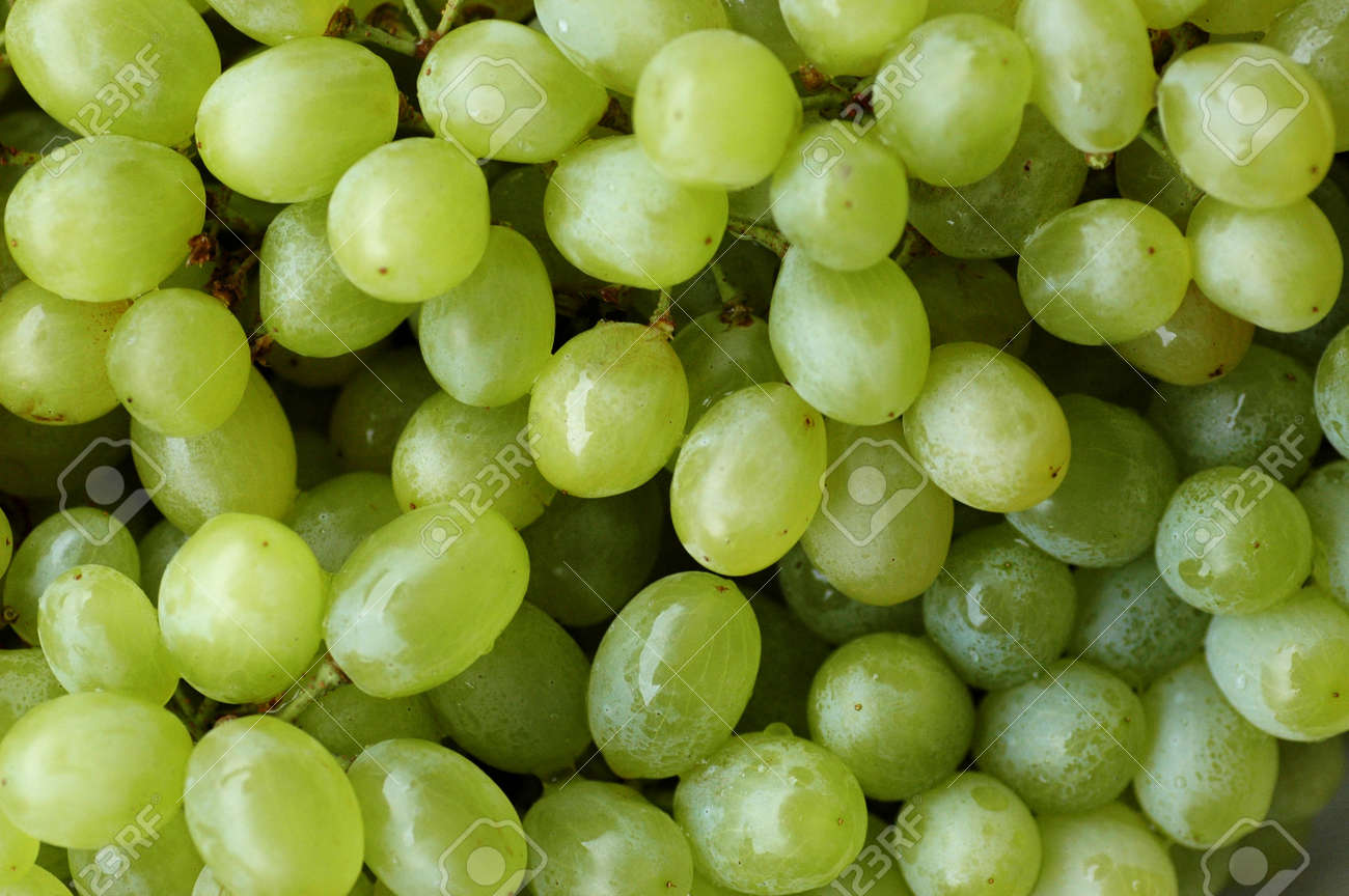 Green Grapes Background Stock Photo Picture And Royalty Free