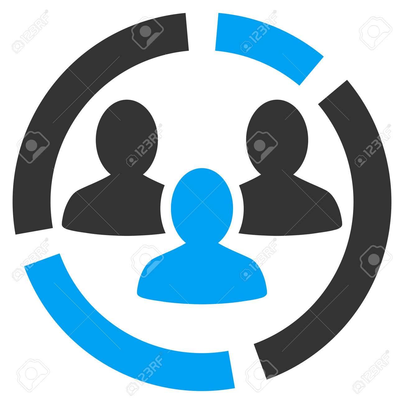 Demography diagram icon from business bicolor set vector style is demography diagram icon from business bicolor set vector style is bicolor flat symbol blue ccuart Choice Image