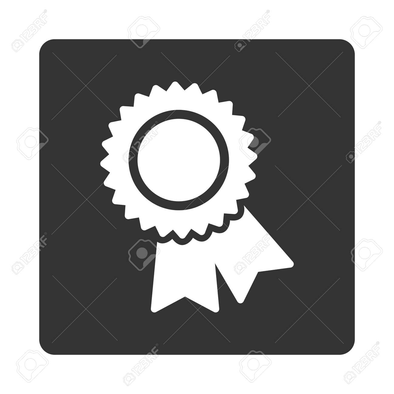 Certification Icon From Award Buttons Overcolor Set Icon Style