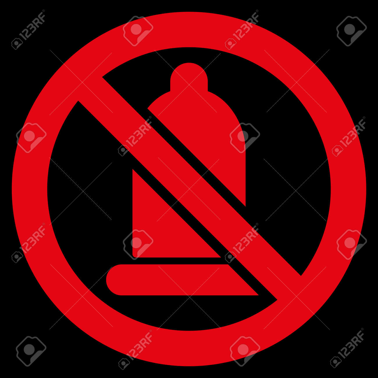 Forbidden condom raster icon style is flat symbol red color style is flat symbol red color rounded angles biocorpaavc Images