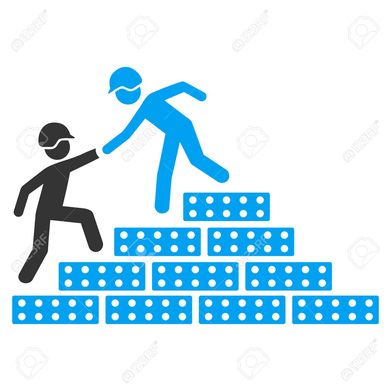 builder stairs help vector icon style is flat symbol rounded builder stairs help vector icon style is flat symbol rounded angles white background