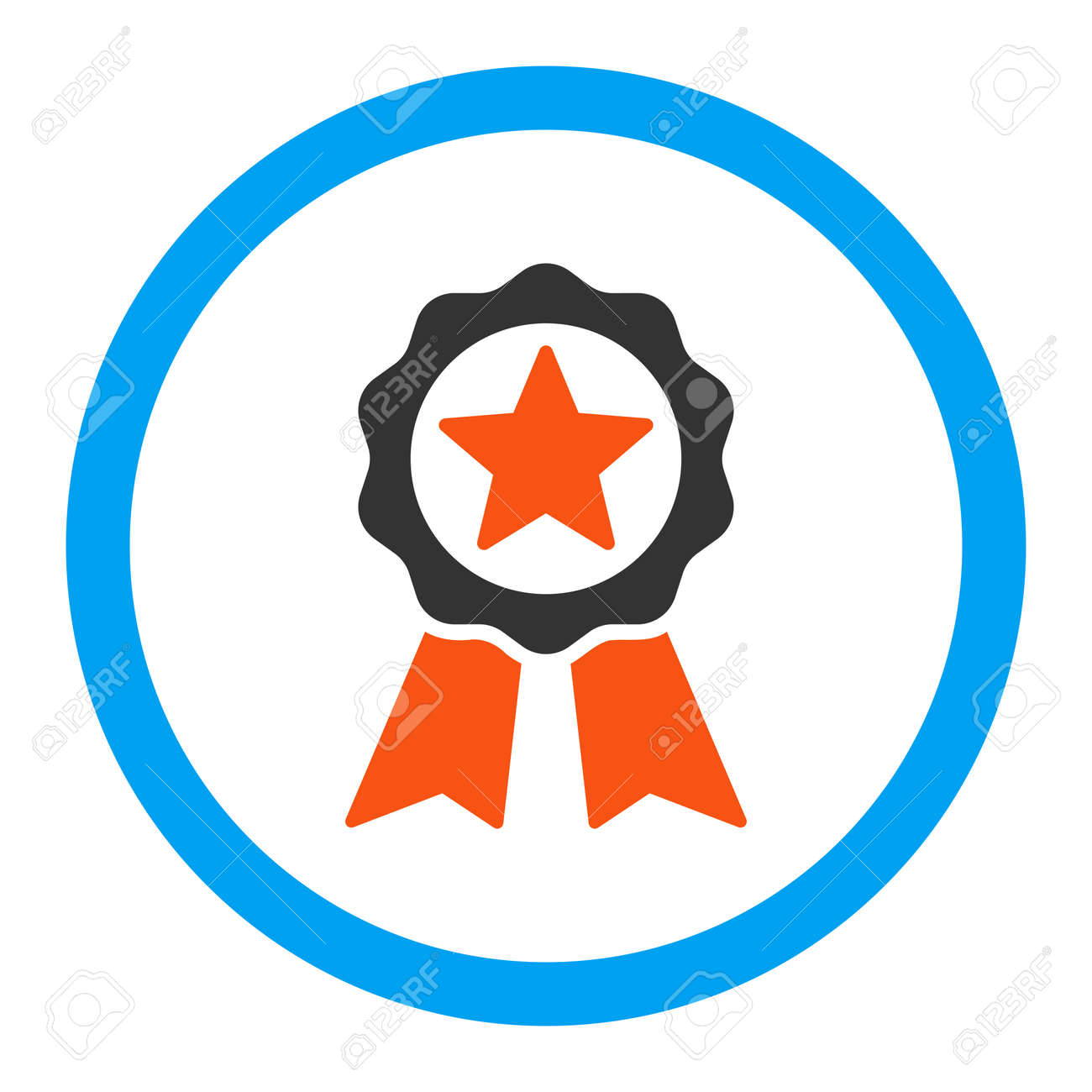 certification seal vector icon style is flat rounded symbol rh 123rf com seal victory age of wonder 3 sell vector art