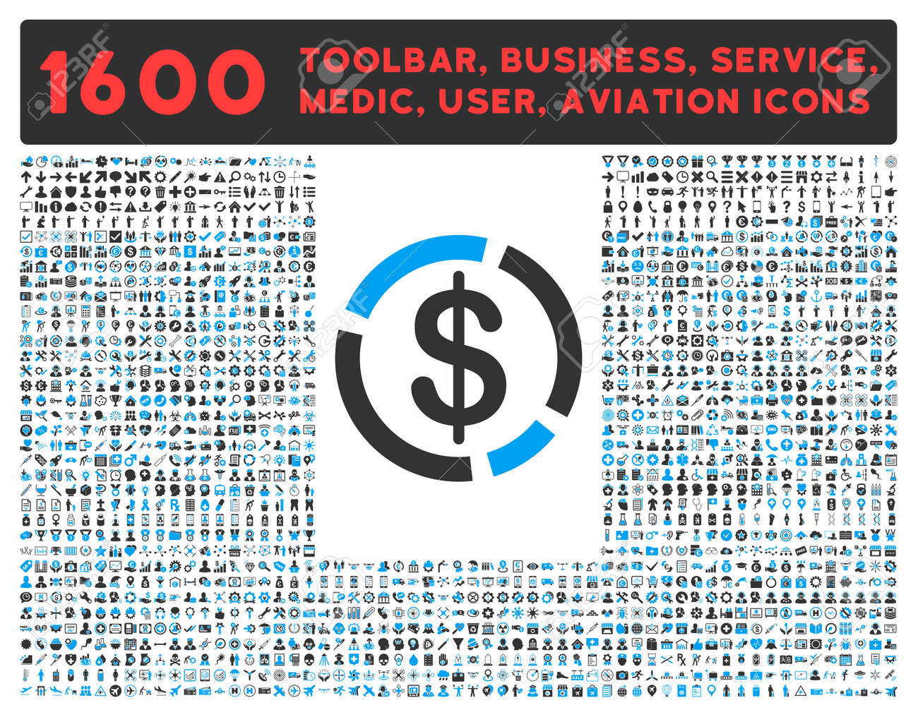 Dollar diagram vector icon and 1600 other business service tools dollar diagram vector icon and 1600 other business service tools medical care software ccuart Gallery