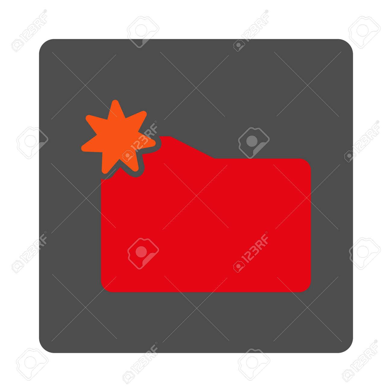 cf00ac123396 Nuevo icono catálogo de vector. El estilo es botón de plata cuadrada  redondeada plana con el símbolo de color rojo, fondo blanco.