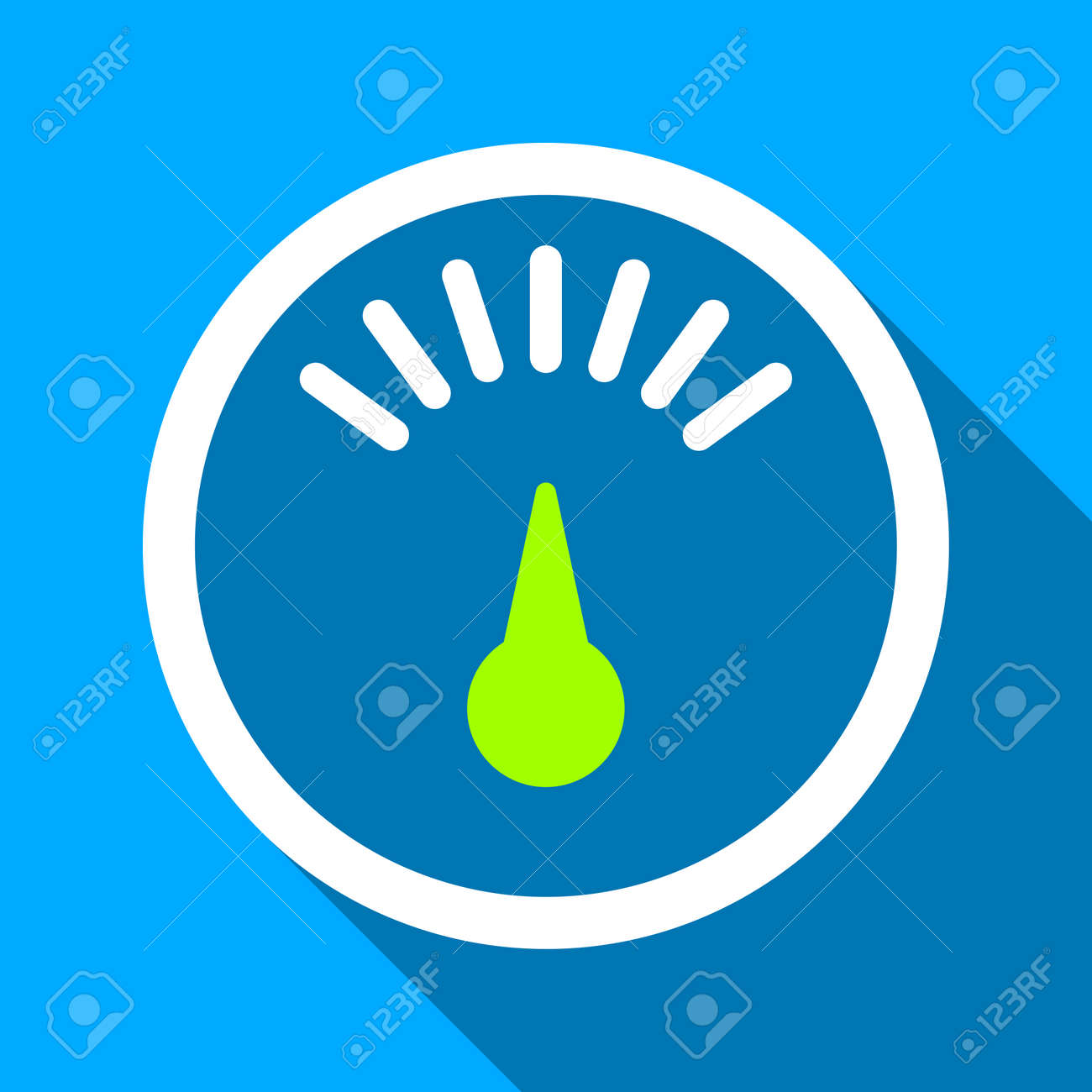 Weight Meter Long Shadow Raster Icon. Style Is A Flat Light Symbol ...