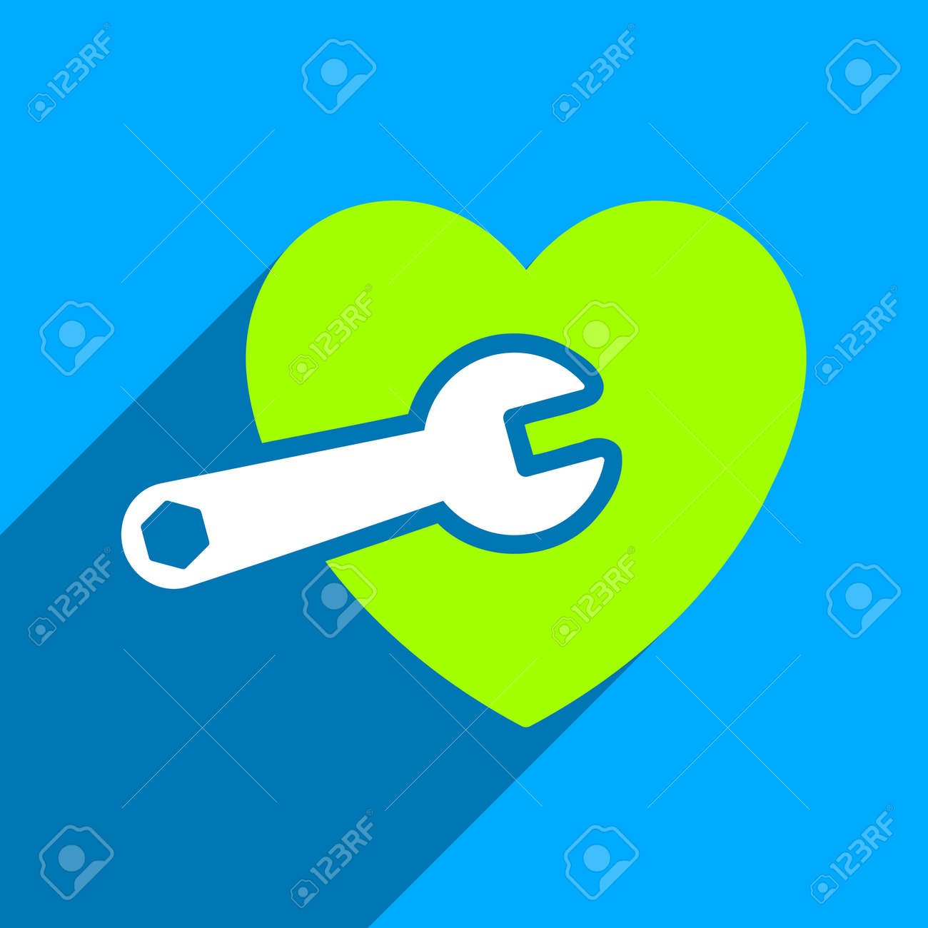 Heart Surgery Long Shadow Vector Icon Style Is A Flat Heart Surgery Iconic Symbol On A Blue Square Background Royalty Free Cliparts Vetores E Ilustracoes Stock Image 53658054
