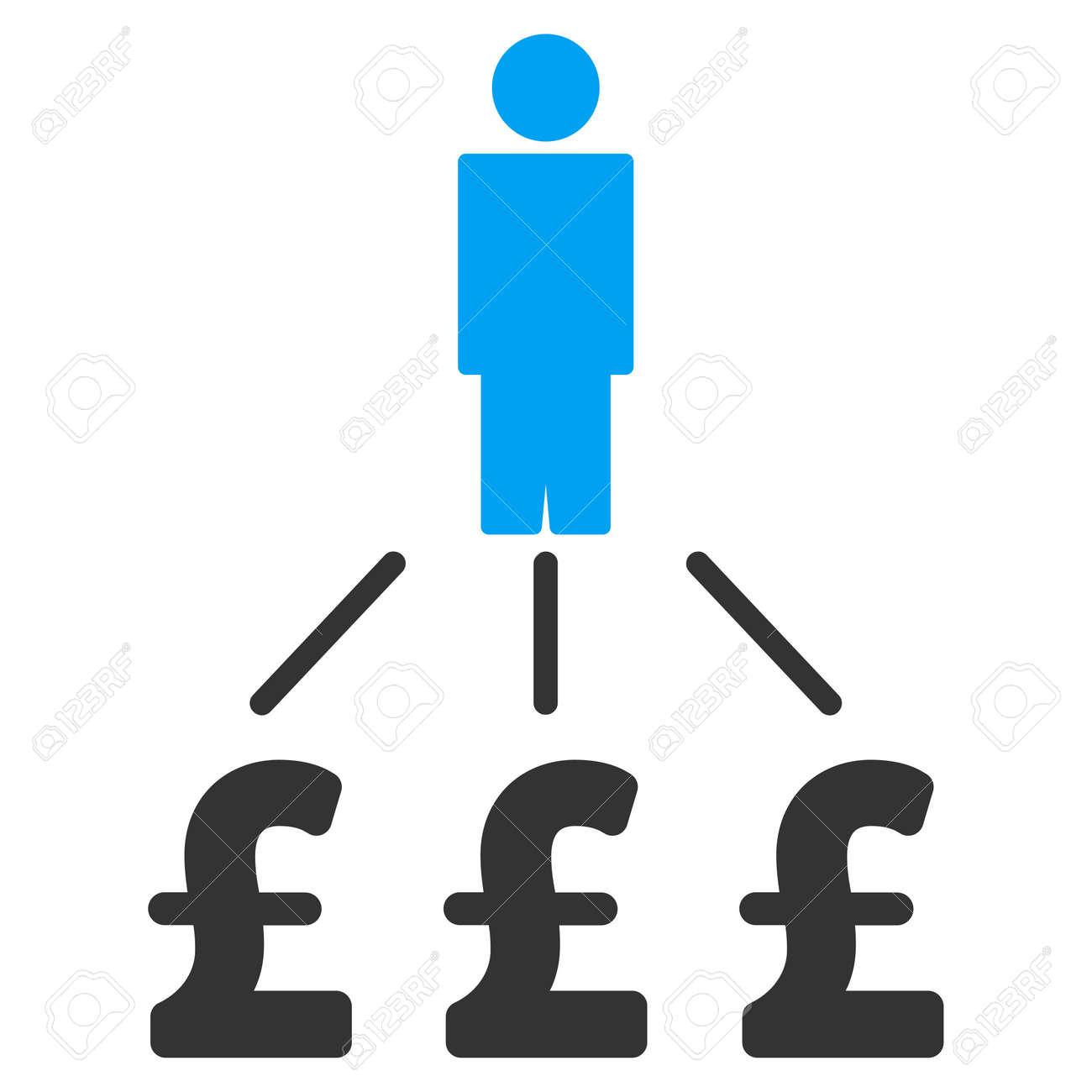 person pound expenses vector icon person pound expenses icon symbol person pound expenses icon