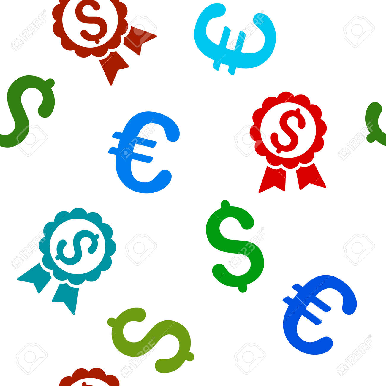 Featured price label vector repeatable pattern with dollar and featured price label vector repeatable pattern with dollar and euro currency symbols style is flat biocorpaavc